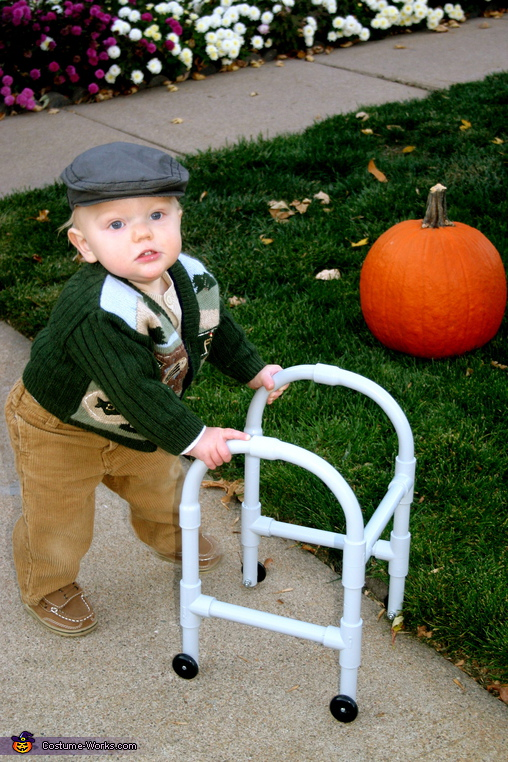 40 awesome homemade kid halloween costumes you can actually make little old man from costume works solutioingenieria Image collections